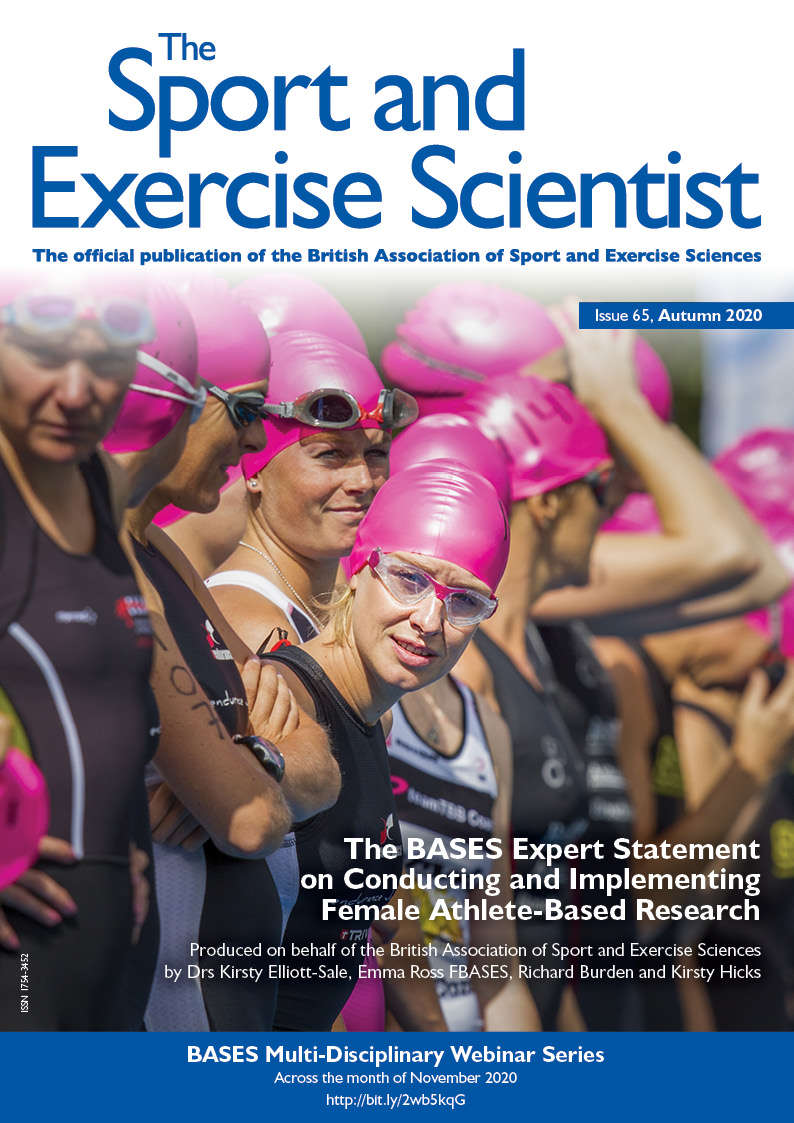 The BASES Expert Statement on Conducting and Implementing Female Athlete Based Research