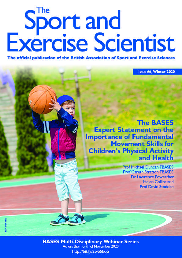 The BASES Expert Statement on the Important of Fundamental Movement Skills for Children's Physical Activity and Health