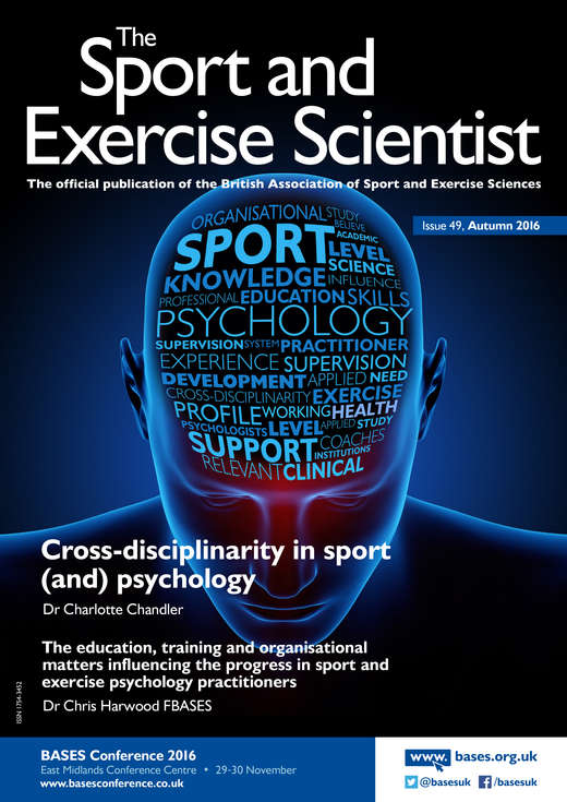The Sport and Exercise Scientist